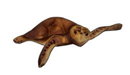Meeresschildkröte Kelaiah zum ausschneiden | kelonya.ch
