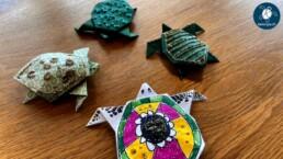 Kelonya Origami selbst gebastelt